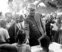 Removal and detention of Sheikh Abdullah - 1953