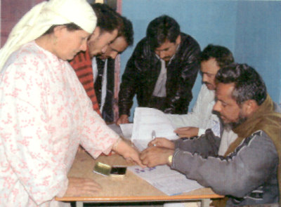 Women Voters in Kashmir
