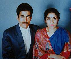 [Susheel Kr. Bhat with wife]